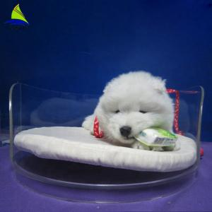 China Acrylic Pet Bed Cave House For Dog And Cats Acrylic Dining Room Chairs on sale