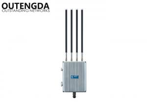 China Long Range Outdoor WiFi Access Point 1200Mbps 11AC , High Power PoE Wireless WiFi Repeater on sale