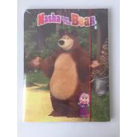 Cute kids promotional School Elasticated File Notebooks Writing Pads 26*1*35 CM  with sticker paper products