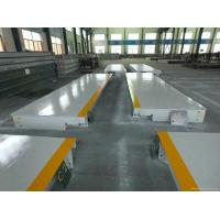 China 3x16m weighing scale 60ton truck scale 60ton truck scale weighbridge, weighing machine for trucks 60ton, on sale