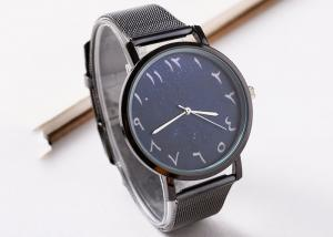 China Waterproof Metal Strap Arabic Numerals Watch For Wedding Custom Logo Accepted on sale