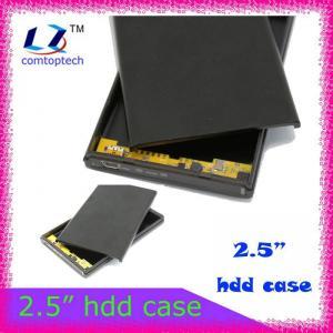 China 2.5 sata hard disk enclosure external hdd enclosure on sale