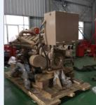 China Wet Type Marine Diesel Generator Set , 895KW 1200HP Portable Marine Generator wholesale