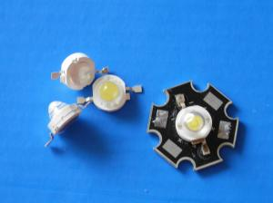 China 1 w red 620-630nm high power led 40-50lm / Epistar led chip / 8 years warranty on sale