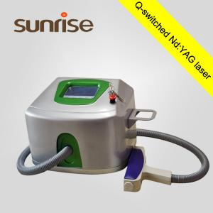 China hight quality 500W 1064 nm 532nm nd yag tattoo removal laser device on sale