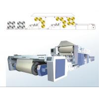 Textile Weaving Machine , Sizing Machine With Four Squeezing