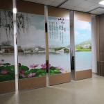 Office Separation Soundproof Accordion Folding Partition Walls For Banquet Hall
