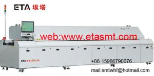China Nitrogen lead-free reflow oven ETA-S8-N on sale