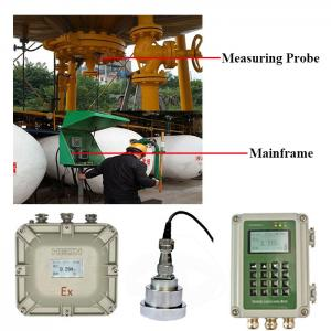 China Liquid Level Measuring Instrument Ultrasonic level meter on sale