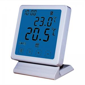 China White Color Big Clear Screen WIFI Thermostat with Using ANDROID or IOS APP on sale