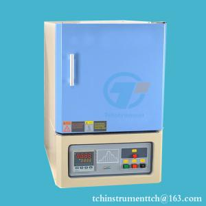 China 1400C high temperature chamber muffle furnace on sale