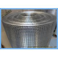 Hot Dipped Electric Galvanized Welded Wire Mesh Stainless Steel SGS Approved