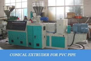 China One In Four Pipes One In Two Pipes Plastic Pipe Making Machine For Pvc Material on sale