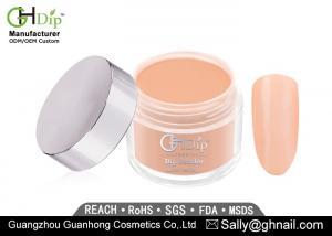 China 80-Crack Resistant Shiny 2 oz Color Acrylic Nails Dip Powder Long Lasting on sale
