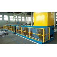 Automated ISO9001 Copper Wire Drawing Machine , Horizontal Welding Rod / Wire Nail Making Machine