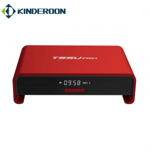 China Dual Band WIFI T95U Full HD Android Smart TV Box Chipset S912 Plastic Material on sale
