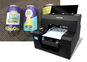 China Small Direct Color Systems Uv Printer Digital Printing On Glass Bottles on sale