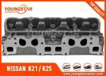 日産 K21/K25 のためのエンジンのシリンダー ヘッド; 日産のフォークリフト K21 K25 2.0 11040-FY501