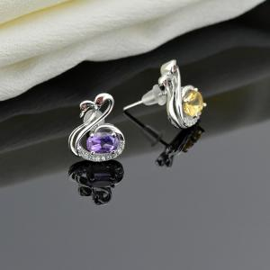 Quality 925 Sterling Silver Earrings Ebay Stud Fancy Earring