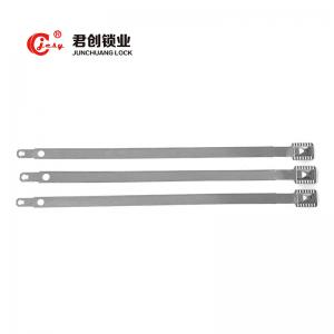 China Introduced Customized tight Tinplate Steel Strap Seal Metal Ball Seal for Bank on sale