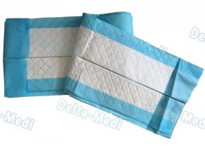 China Medical Non Woven Disposable Bed Sheets Under Pad For Pregnant / Incontinence Patient on sale