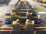Lead Screw Adjustment Welding Turning Rolls / Self Aligning Welding Rotator