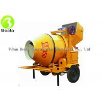 China 350L Electric Concrete Mixer , Electric Cement Mixer JZC350 380V Triple Phase on sale
