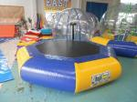 China Customized Inflatable Water Park inflatable sea trampoline Digital Printing wholesale