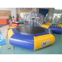 Customized Inflatable Water Park inflatable sea trampoline Digital Printing