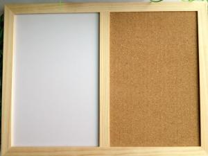 China wooden combination boards combine notice whiteboard,chalkboard 20*30cm on sale