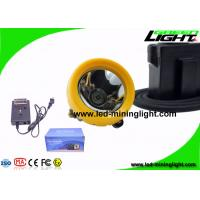 7.8Ah 10000 Lux Anti Explosive Underground Mining Cap Lamp with Cable OEM ODM Service