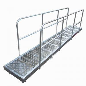 China Aluminum Alloy Steel Marine Boarding Ladder Strong Bearing Safety Emergency Boarding Ladder For Boats on sale