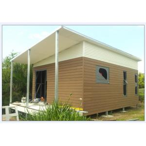 China Australia Style Prefab House Kits , Modern Prefab House With WPC As Exterior Wall Cladding on sale