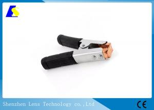 China Non Slip Handle Welding Earth Clamp 500A Spring Loaded Crocodile Clip Metal on sale