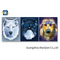 Clear Vivid Animal 3d Photo For Home Wall Decor , 3d Flipped Changing Wall Art