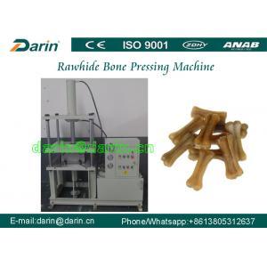 China Dental Pet Chews Pressed Rawhide Bones Machinery with cowhide , pigskin , beef tendons on sale