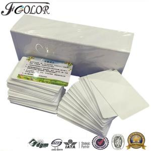 China Tarjeta plástica del empleado de la tarjeta de estudiante de la tarjeta de visita de la tarjeta/PVC del carnet con foto/PVC/PVC para Epson R210 R290 R270 T50 P50 on sale