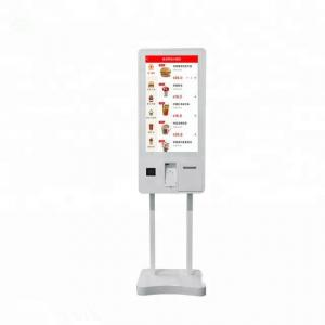China Chain Restaurant Self Service Kiosk 27 Inch Payment Machine Kiosk on sale