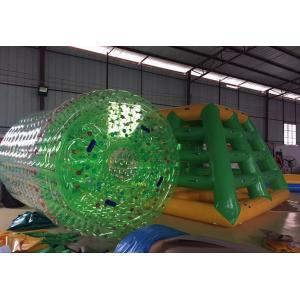 China Durable 0.8mm PVC Water Sport Toys / Inflatable Water Roller For Amusement Water Park on sale