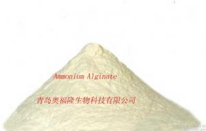 China Pure Natural seaweed extraction  Ammonium Alginate For Health Care Product on sale
