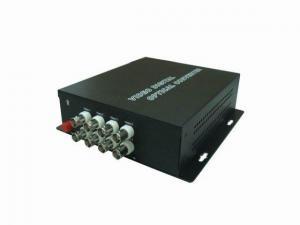 China 8 Channel Fiber Optic Video Converter on sale