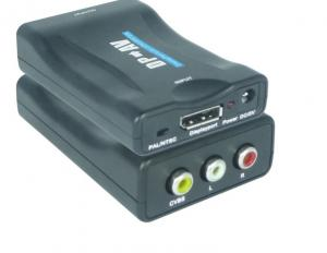 China Mini DP to AV Converter Supports NTSC and PAL two standard TV formats output on sale