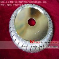 China Muela abrasiva electrochapada del diamante en enlace para la piedra, el mármol y el granito Mary@moresuperhard on sale