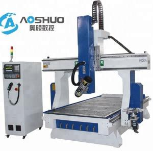China 1325 Spindle Moulder CNC 3D Router Machine , Woodworking Cnc Machine Aluminum Cutting on sale