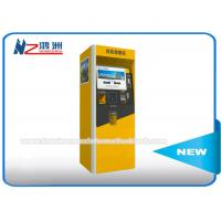 China Automated Self Service Parking Ticket Vending Kiosk Machines Free Standing on sale