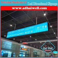 China Airport Hanging LED Direction Signage on sale