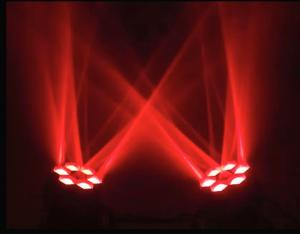 China 2015 new top selling stage disco dj lighting 6pcs mini led moving head beam eyes lights on sale