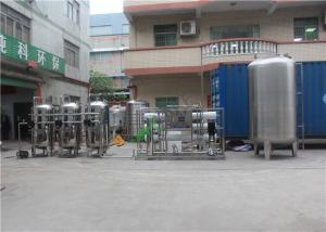 China Stainless Steel 304 316 With Tank Water Treatment Equipment RO Pure Water Purification on sale