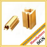 decoration material brass alloy extrusion section
