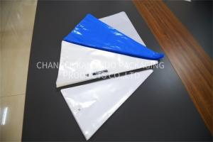 China Blue White Disposable Pastry Bags / Disposable Icing Bags For Cake Decorating on sale